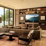 Living Room with Floor-to-Ceiling Windows