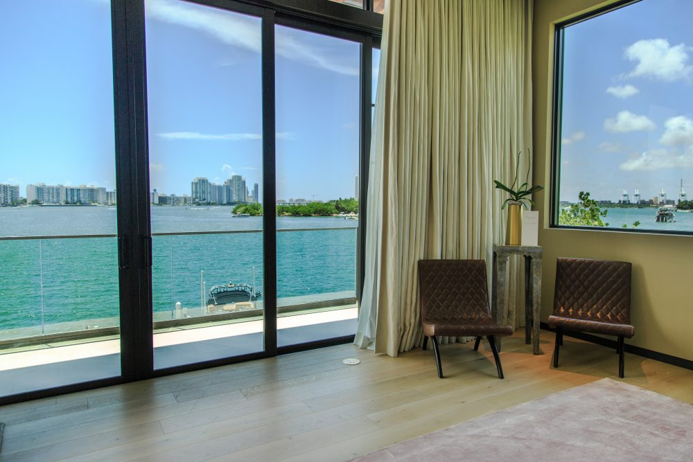 Ocean Views From the Master Bedroom