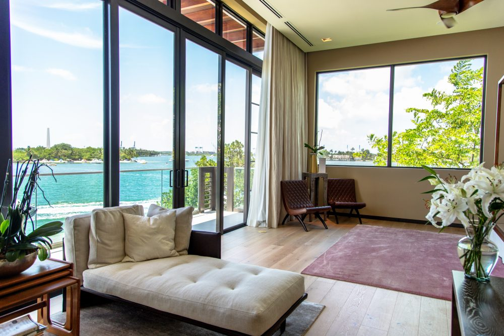 Master Bedroom Ocean Views